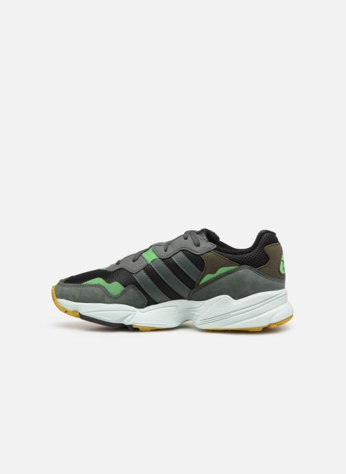 Baskets adidas originals Yung-96 Noir vue face